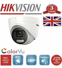 HIKVISION colorvu 5mp COLOUR NIGHTVISION CCTV