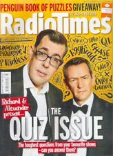 RADIO TIMES THE QUIZ ISSUE POINTLESS TV Guide January 2018  Magazine Collectable