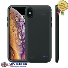 iPhone (Series 10) XS Max -XR -XS/X Battery Charging Thin Phone Case - 6,200 mAh