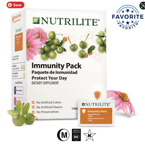 Nutrilite Immunity Pack New in Box Echinacea and Vitamin C 20 Packets