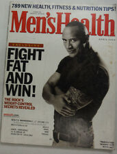 Men's Health Magazine Dwayne The Rock Johnson April 2004 051915R