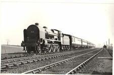 Rail Photo LMS 460 Patriot 5545 Chorlton Nr Crewe Whitmore Cheshire LNWR