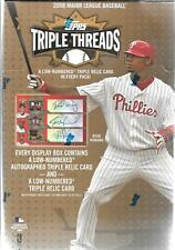 2008 TOPPS TRIPLE THREADS BASEBALL SEALED HOBBY BOX (2 mini boxes)