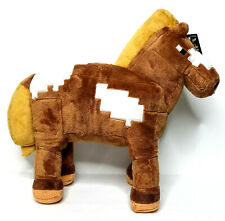 "Minecraft Horse Plush Toy 13""  Official Jinx Mojang Sanbox Video Game Authentic"