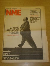 NME 1982 AUG 14 ALFRED HITCHCOCK TWILIGHT OF THE IDOLS