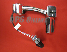Mercury Throttle Control Handle Assembly - Chrome Single Left - Part # 877741A23