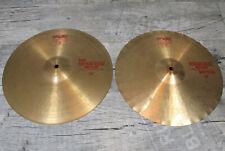 "Paiste 2002 Sound Edge hihat 14"" bronce Cymbal pélvico Drums, batería"
