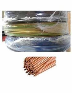Flexible Aderleitung H07V-K Meterware Litze Verdrahtungsleitung 10-150 mm²