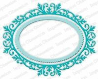 Ornate Oval Frame - Impression Obsession (391ZZ) suitable for most die cutters