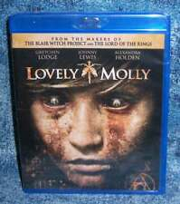 NEW RARE OOP GRETCHEN LODGE JOHNNY LEWIS LOVELY MOLLY HORROR MOVIE BLU RAY 2011