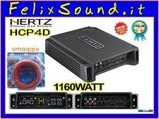 Hertz HCP4D Amplificatore 4CH 1160 WATT GARANZIA ITALIA + KIT CAVI DIETZ OMAGGIO