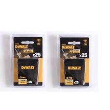 50 Dewalt Ph2 Screwdriver Impact Bits - 2 X 25 PACK DT70586-QZ