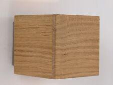 lampada da parete applique moderno led legno rovere naturale camera salone