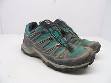 Salomon Women's X Ultra 2 GTX Hiking Shoe Peacock Blue/Deep Blue/Lucite Green 6M