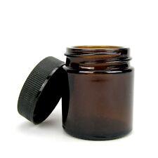 5x Sala Braunglas Salbentiegel Cremedose Glas Tiegel 30 ml