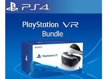 Sony Playstation PS 4 VR Virtual Reality Lunettes ps4 Casque 3d Lunettes Nouveau neuf dans sa boîte
