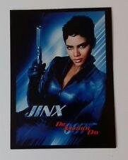 "JAMES BOND - 007 Die Another Day Movie Halle Berry Jinx 6.5""X5"" Postcard Boxtree"