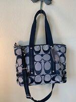 Coach Kyra Signature Tote Shoulder Bag F18855