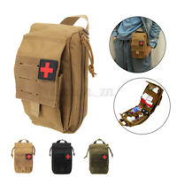 First Aid Kit  Tactical Survival Molle Travel Waist Pack Pouch Emergency