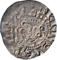 1250AD ENGLAND Great Britain UK King HENRY III Silver Hammered Penny Coin i74882