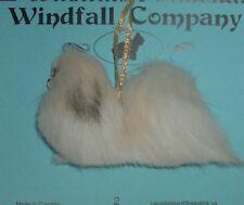 Parti Pekingese Dog Plush Christmas Ornament by WC #2