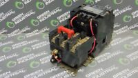 USED Square D 8736SCO8 NEMA Size 1 Motor Starter 120V 60Hz Coil Form S Ser.A