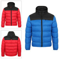 Tokyo Laundry Mens Hakim Puffer Coat Warm Padded Hooded Windproof Quilted Jacket