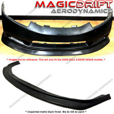 For 09 10 11 Honda Civic 4Dr Sedan MDA Style Front Bumper Chin Lip (Urethane)