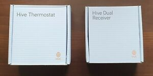 Hive Active Heating Thermostat And Receiver For System With Separate Water Tank