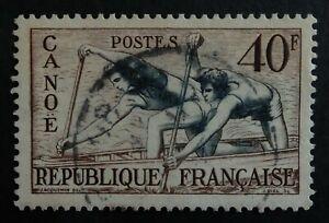 Timbre poste. France. n°963. Jeux olympiques d'Helsinki en 1952.