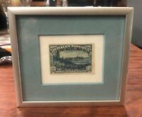 1938 Framed Defense of Madrid 2nd Anniversary Stamp 45CTS/2PTS Nov 7th 1938