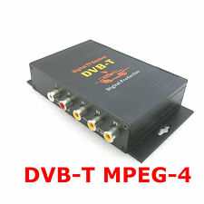 HD Digital TV DVB-T / ISDB-T ATSC Terrestrial Receiver H.264 MPEG-4 TV BOX