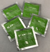 glam glow power mud face mask x 5 treatments