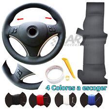 Funda de volante a medida en cuero liso para Bmw E92 E93 Serie 3 paquete Sport