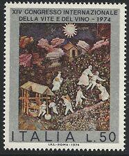 Italy Scott #1161, Single 1974 Complete Set FVF MNH