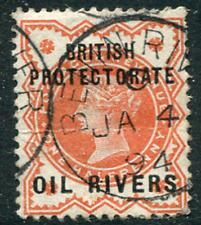 OIL RIVERS: (16966) BENIN-RIVER postmark/cancel