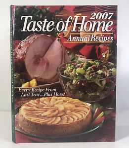 Taste of Home Annual Recipes 2007 Hardcover