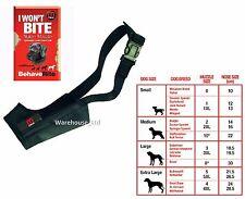 Mikki Training Soft Nylon Dog Muzzle All Sizes