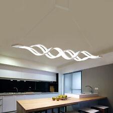 60W LED Hängeleuchte Pendelleuchte Hängelampe Deckenlampe Kaltweiß Esszimmer