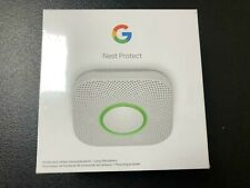 GOOGLE NEST PROTECT SMOKE AND CARBON MONOXIDE ALARM BATTERY NEW