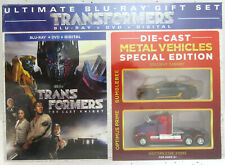 Transformers ~ The Last Knight ~ Die Cast Gift Set ~ BLU-RAY + DVD Movie