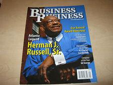Atlanta Business to Business Magazine January 2008 Herman Russell Sr