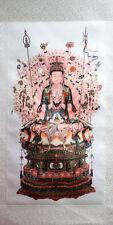 Rollbild Avalokiteshvara mit Tausend Armen buddhistische Bildrolle China