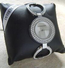 Dyrberg/Kern Uhr TZARE Silver  / Crystal SALE 21% OFF OVP 365