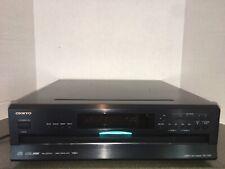 Onkyo DX-C390 6 Disc Carousel CD Player (Black) - NO REMOTE