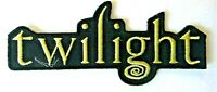 """Twilight, The Motion Picture """"Logo"""" Embroidered Patch -new"""