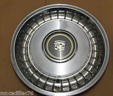 "2 Original CADILLAC les Enjoliveurs 15"" Emblème Gold Klein Top Hubcap Wheel Cover - #2"