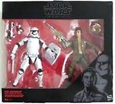 "Hasbro Star Wars Black Series 6"" POE DAMERON & Riot Control Stormtrooper Figure"