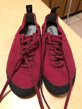 Evolv rock climbing shoes lace up Trax usa size 4.5