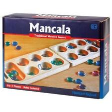 Traditional Wooden Mancala Game by Tobar